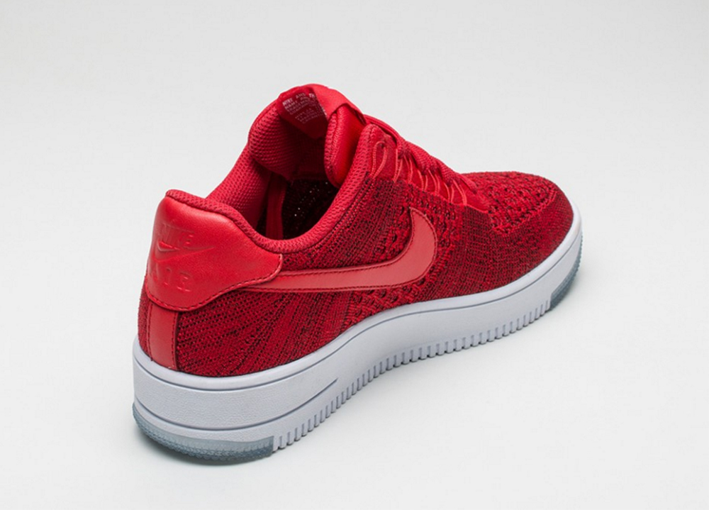 air force 1 flyknit rouge