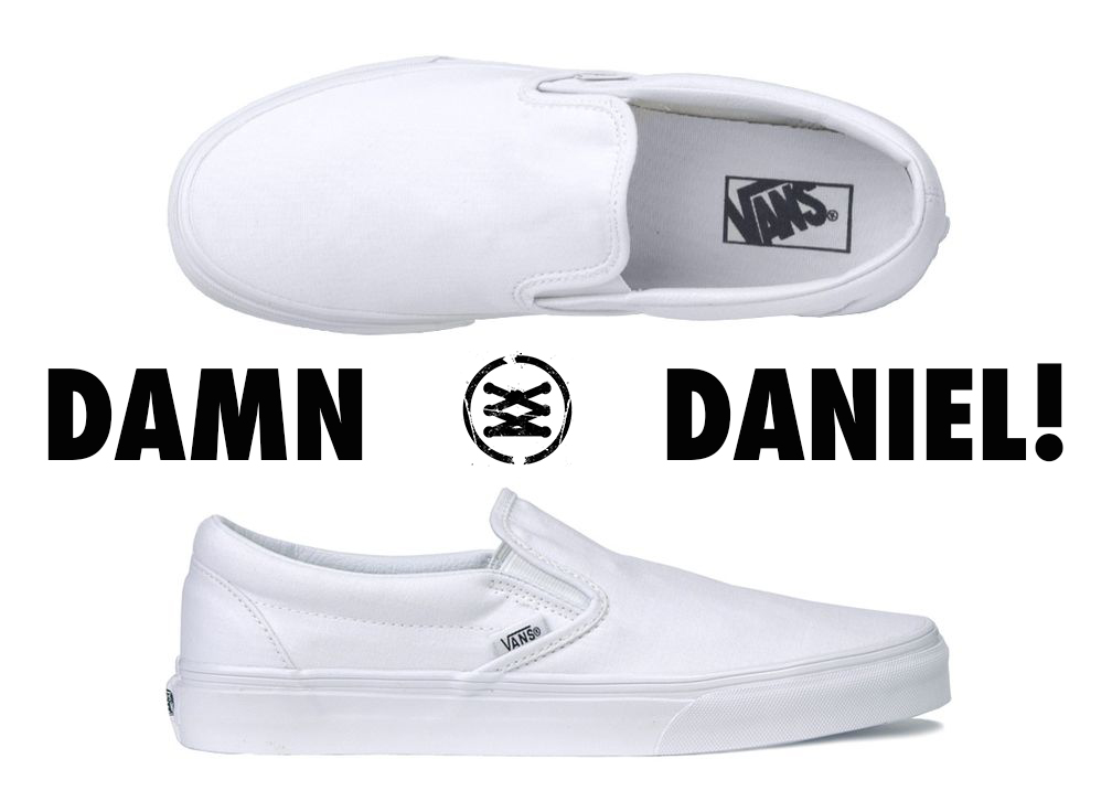 EVERY SHOE IN THE DAMN DANIEL VIDEO WHITE VANS NIKE