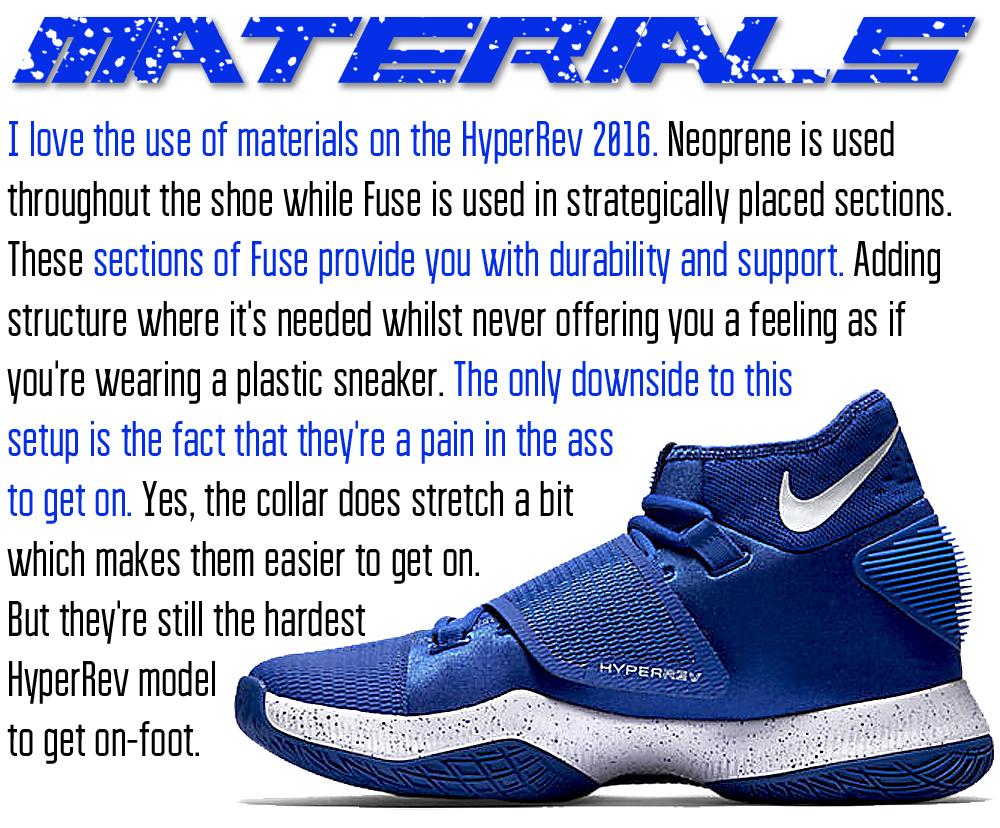 HyperRev Materials