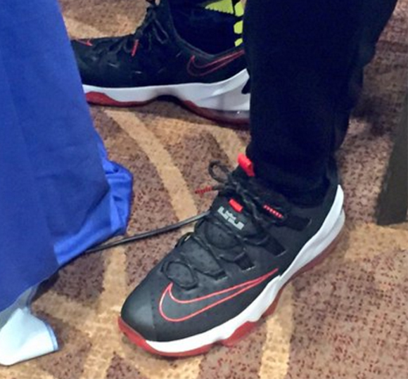 amazing price online shop new collection LeBron James Wears Nike LeBron 13 Low in Toronto - WearTesters