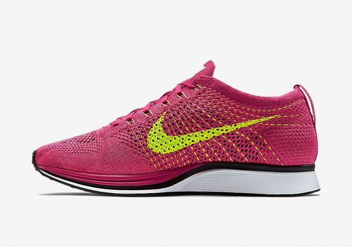 Nike Flyknit Racer Fireberry 3