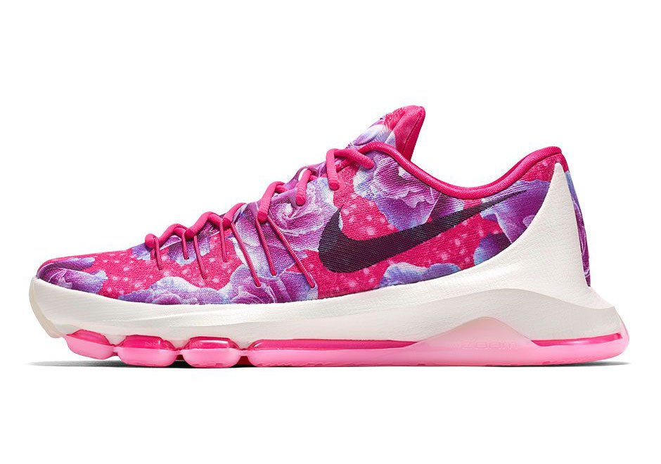 Nike KD 8 'Aunt Pearl' lateral