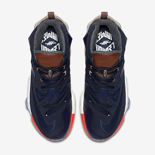 Nike LeBron 13 EXT 'LuxBron' top view