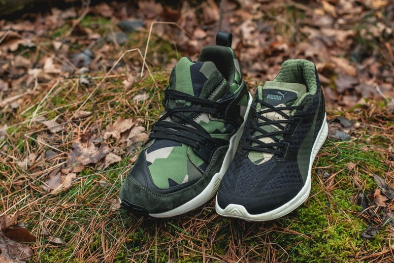 Sneakersnstuff x PUMA Swedish Camo Pack 5