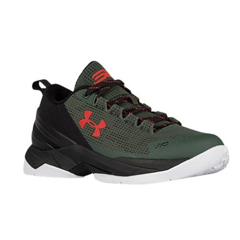 The Under Armour Curry 2 Low to Come in Combat Green