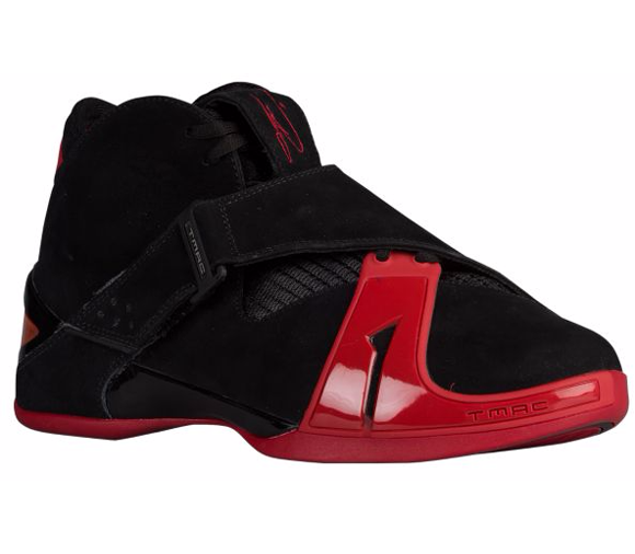 The adidas T-Mac 5 in Black Red is Available Now at FootLocker 1