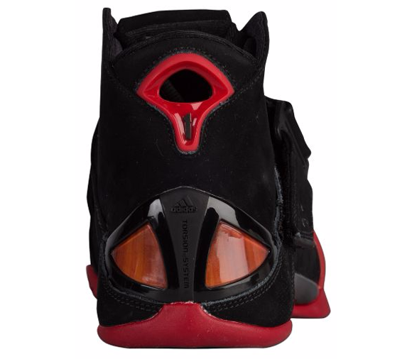 The adidas T-Mac 5 in Black Red is Available Now at FootLocker 3