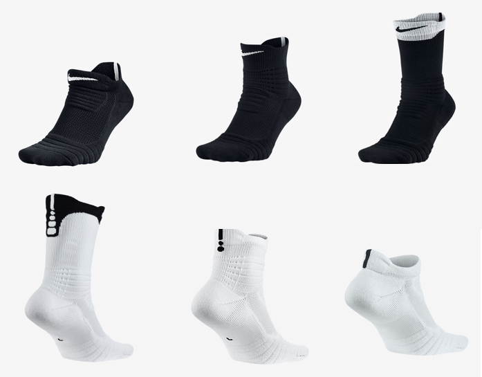 2016 Nike Elite Versatility Socks 14