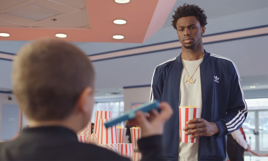 ANDREW WIGGINS STARS IN NEW KIDS FOOTLOCKER COMMERCIAL