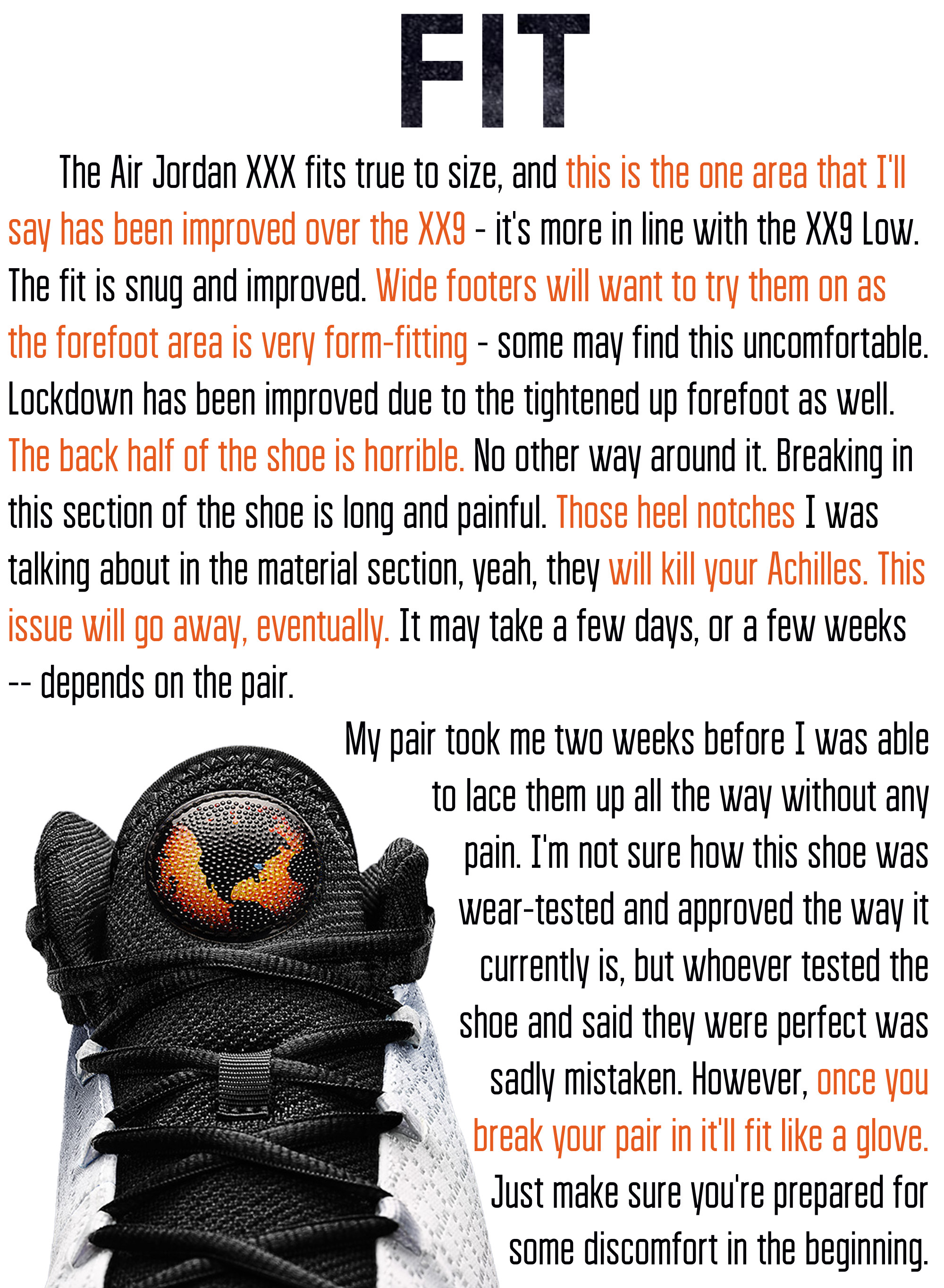 Air Jordan XXX Fit