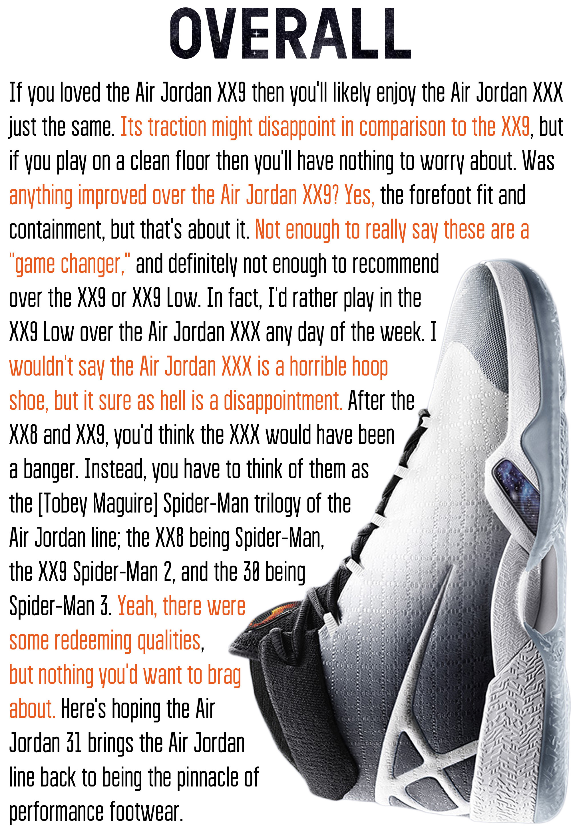 Air Jordan XXX Overall
