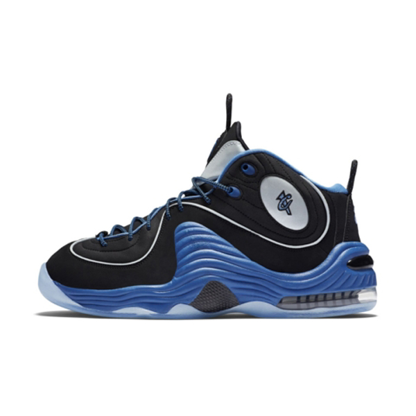 An Official Look at the Nike Air Penny 2 Retro in Black Varsity Royal 1