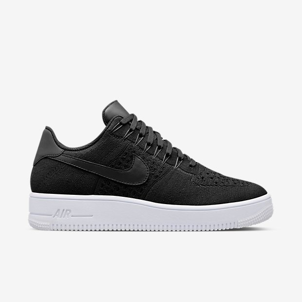 Flyknit Low Nike Air Force 1 Black