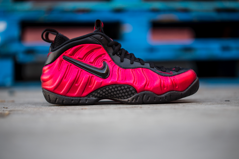Get Up Close and Personal with the Nike Air Foamposite Pro 'University Red' 10