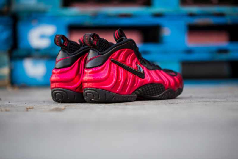 Get Up Close and Personal with the Nike Air Foamposite Pro 'University Red' 9