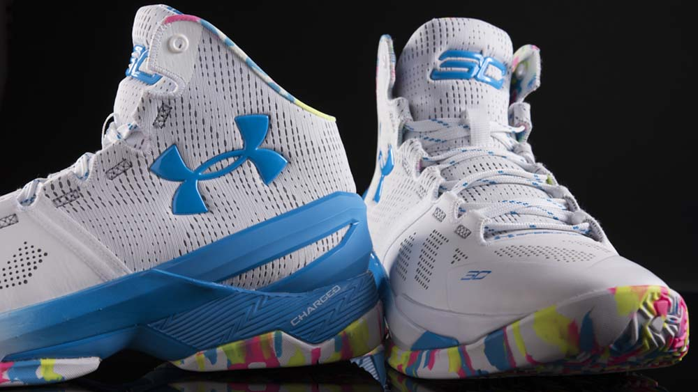 Get Up Close and Personal with the Under Armour Curry 2 'Surprise Party' 5