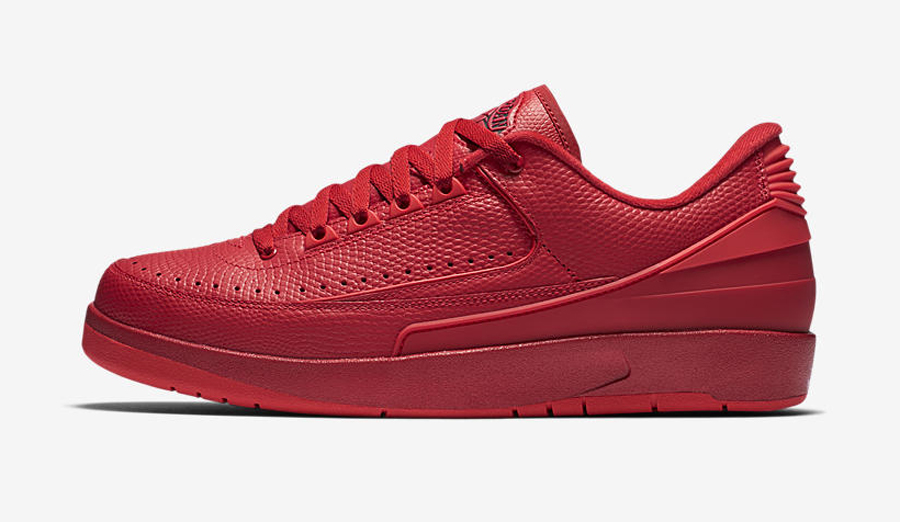 Get an Official Look at the Air Jordan 2 Retro Low 'Gym Red' 1