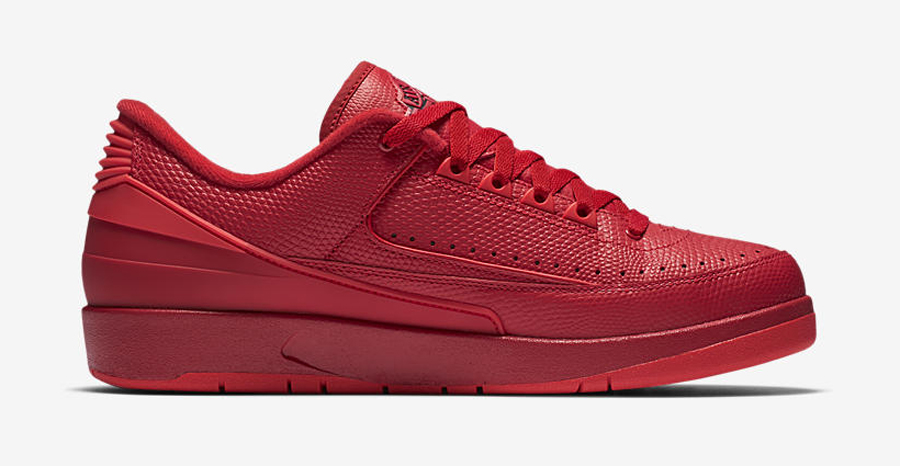 Get an Official Look at the Air Jordan 2 Retro Low 'Gym Red' 3