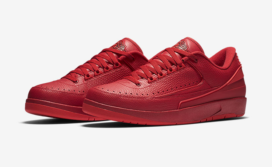 Get an Official Look at the Air Jordan 2 Retro Low 'Gym Red' 9