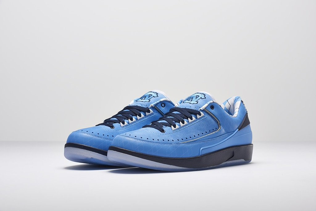 There is an Air Jordan 2 Low UNC PE as