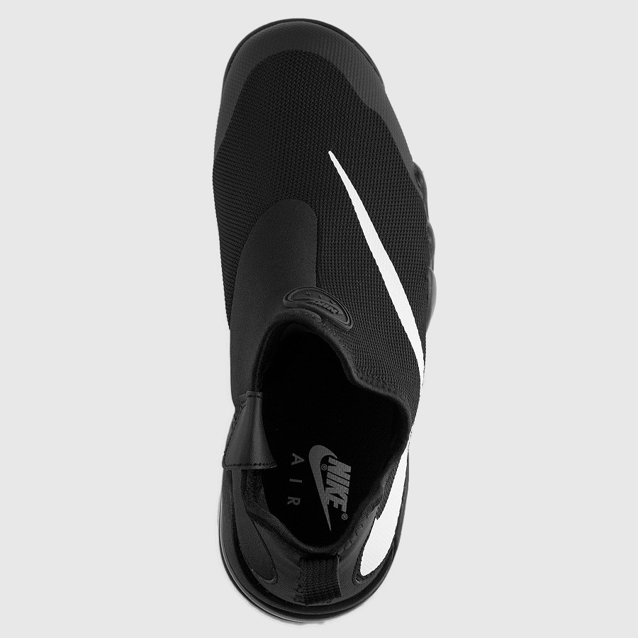 Nike Big Swoosh Black White top view