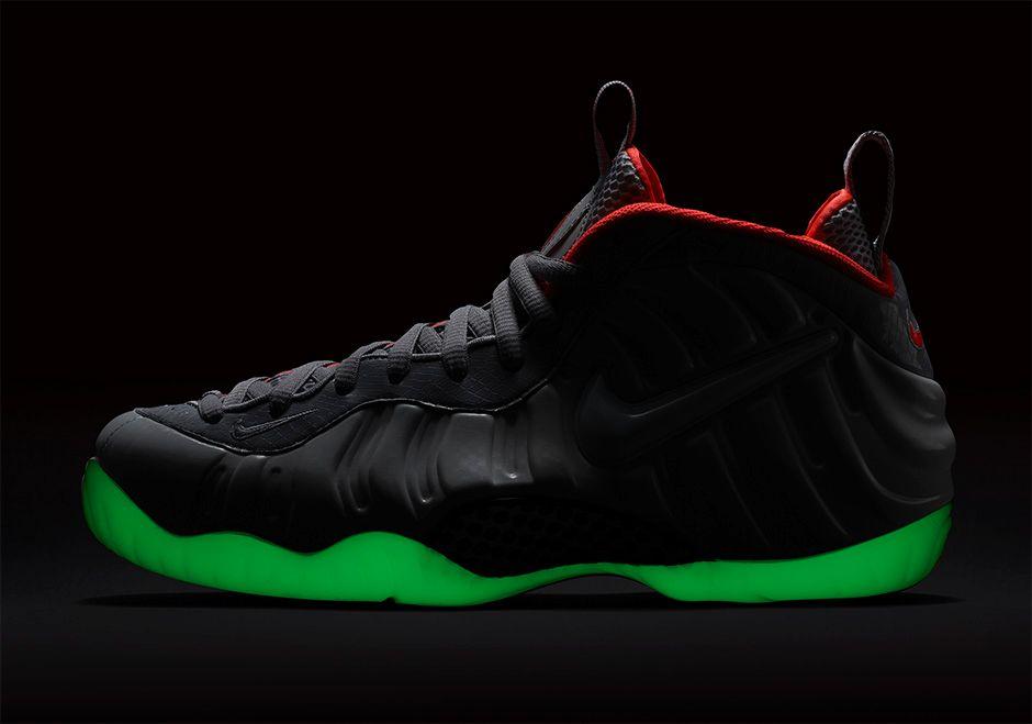 Nike Foamposite Pro Pure Platinum Yeezy glow