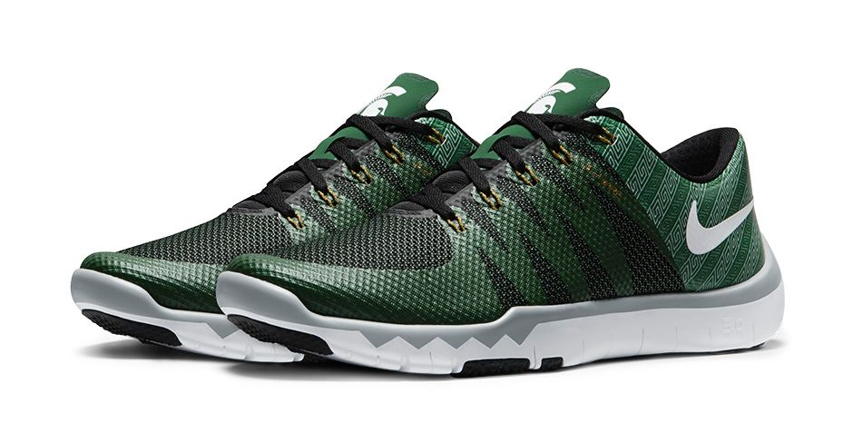Nike Free Trainer 5.0 V6 'March Madness Collection' michigan state spartans