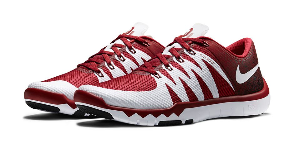 Nike Free Trainer 5.0 V6 'March Madness Collection' oklahoma sooners
