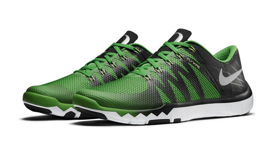 Nike Free Trainer 5.0 V6 'March Madness Collection' oregon ducks