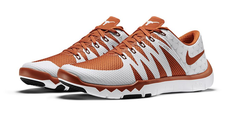 Nike Free Trainer 5.0 V6 'March Madness Collection' texas longhorns