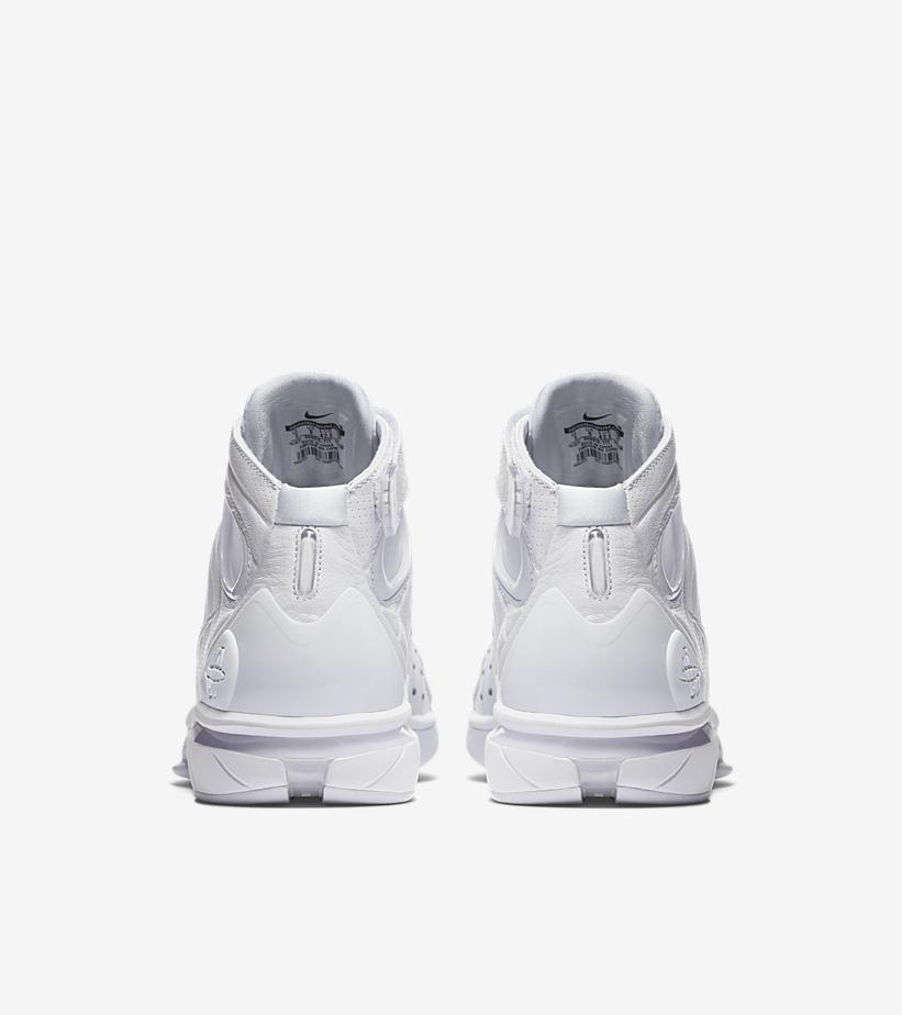 Nike Huarache 2k4 'Black Mamba' Face to Black Kobe Bryant heel