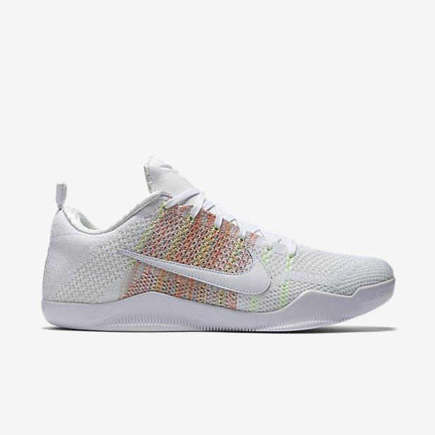 Nike Kobe 11 'White Horse' multicolor 4kb lateral