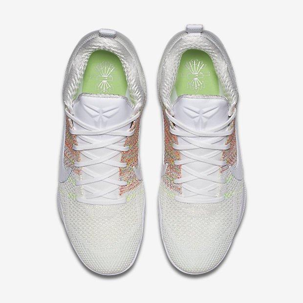 Nike Kobe 11 'White Horse' multicolor 4kb top view