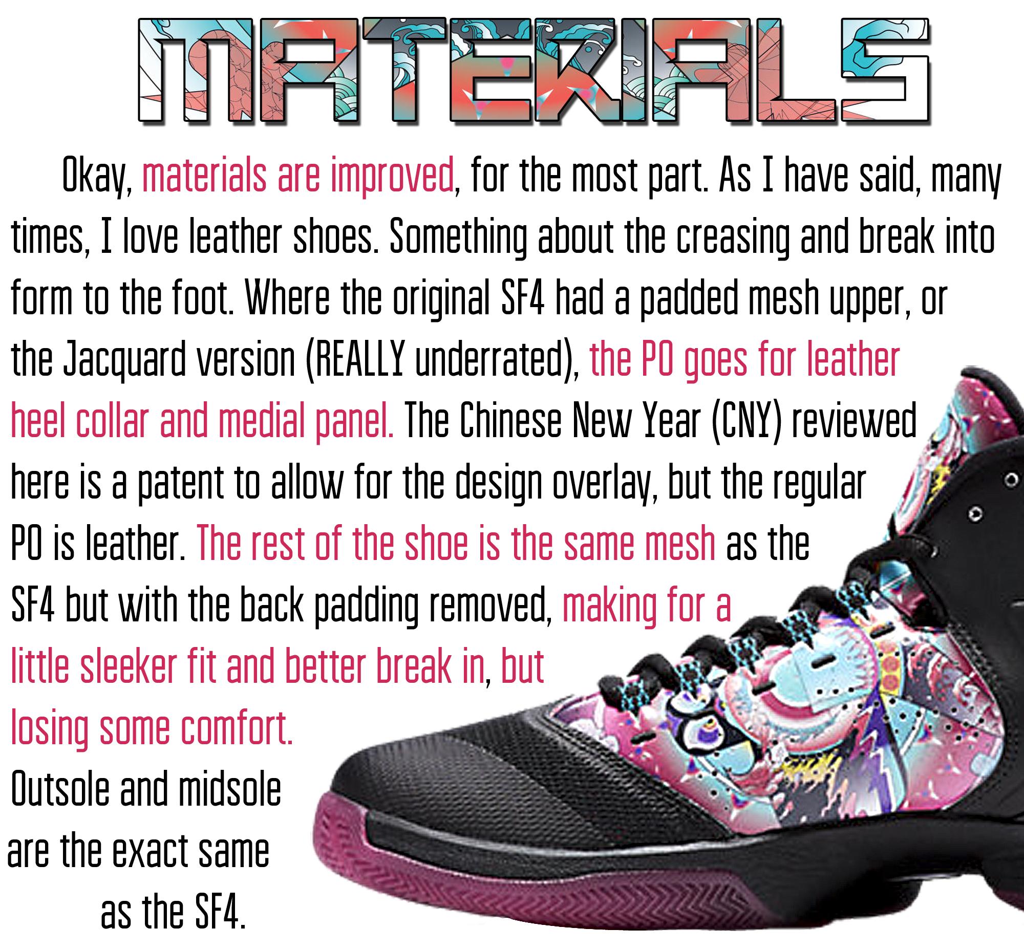 Superfly 4.PO - Materials
