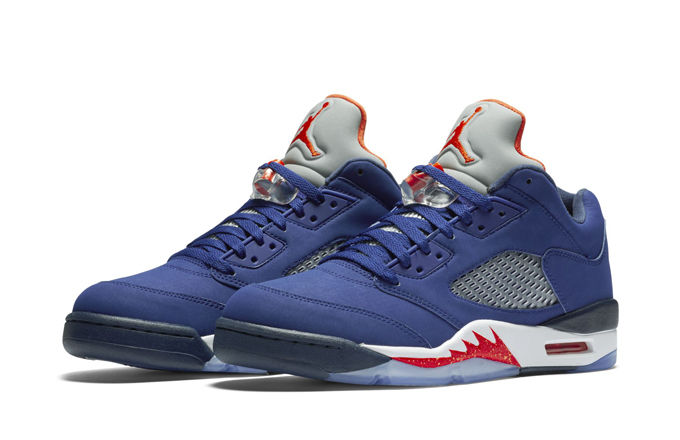 Take a Good Look at the Air Jordan V Low 'Knicks'-7