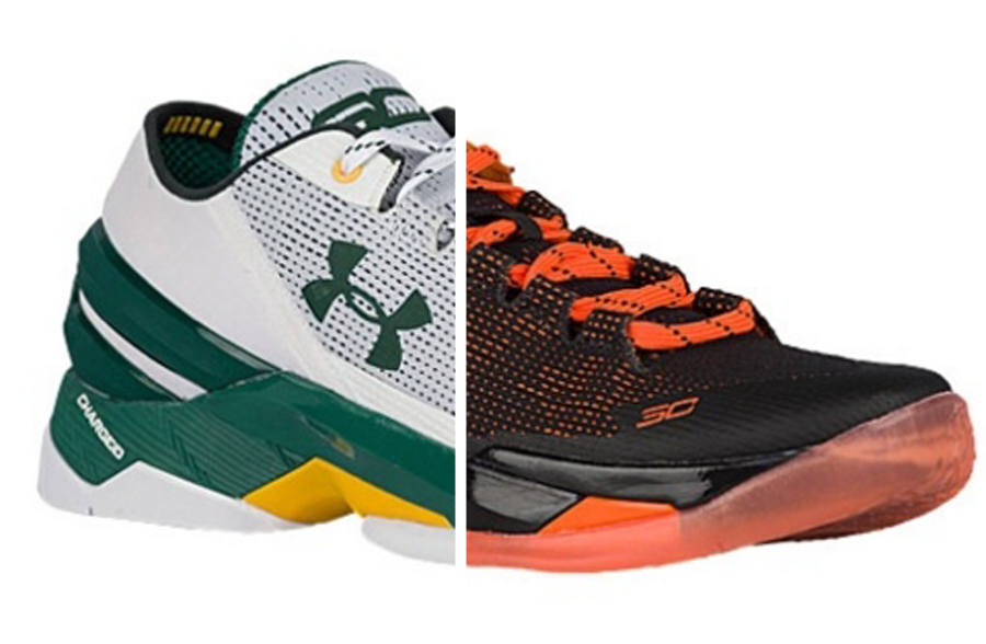 Two New Under Armour Curry 2 Lows That Represent the Bay Main