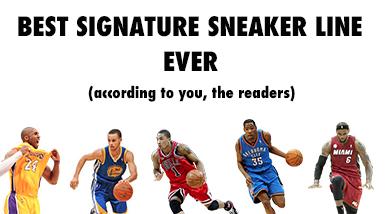 best signature athlete sneaker line ever