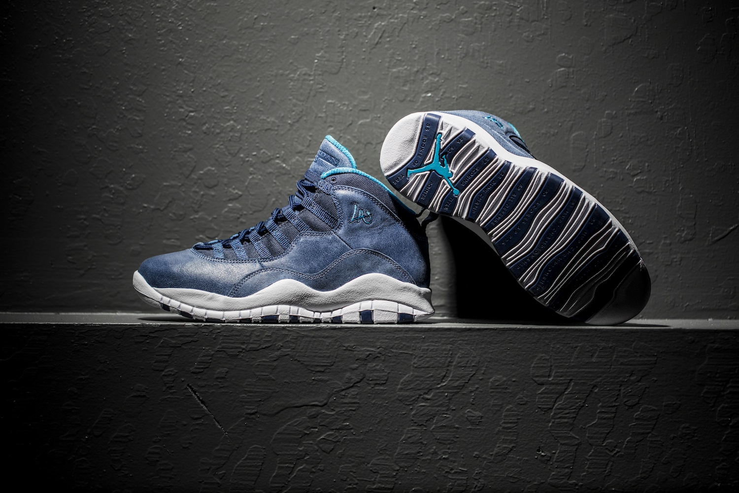 Air jordan 10 los angeles 7