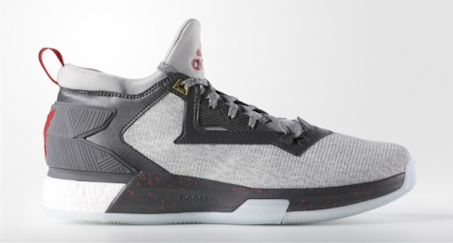 An Official Look at the adidas D Lillard 2.0 in Medium Grey Main