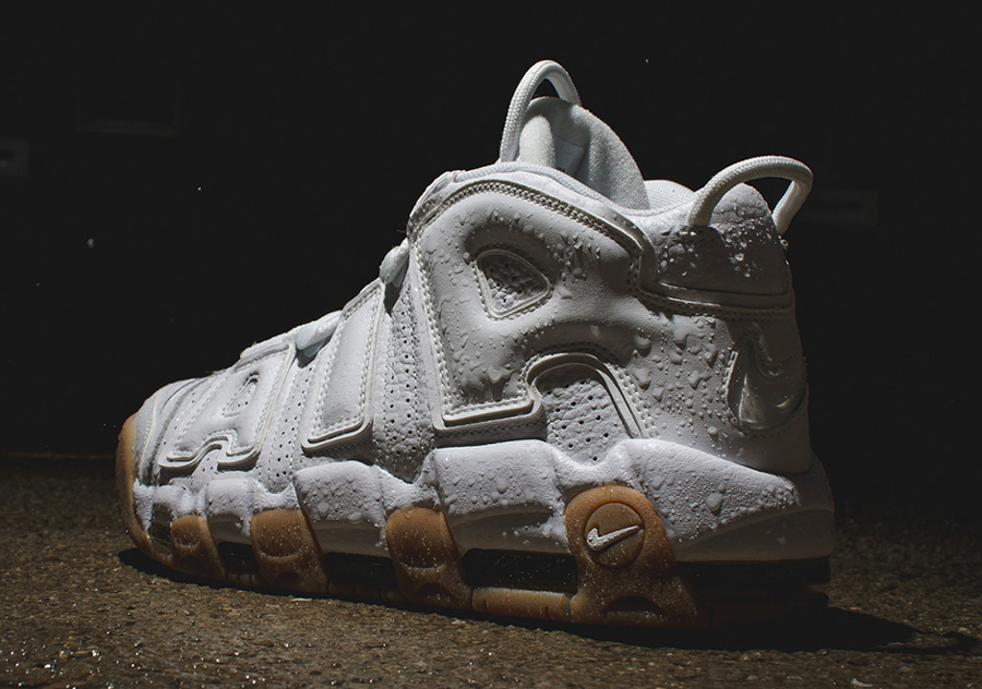 Get a Detailed Look at the Nike Air More Uptempo in White Gum 3