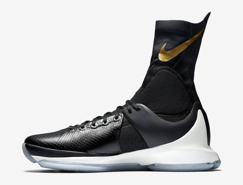 Here's an Official Look at the Nike KD 8 Elite in Black & Gold-4