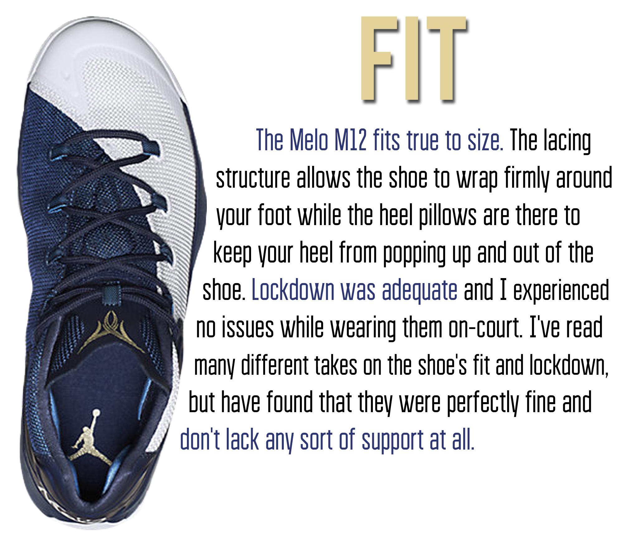 M12 - Fit