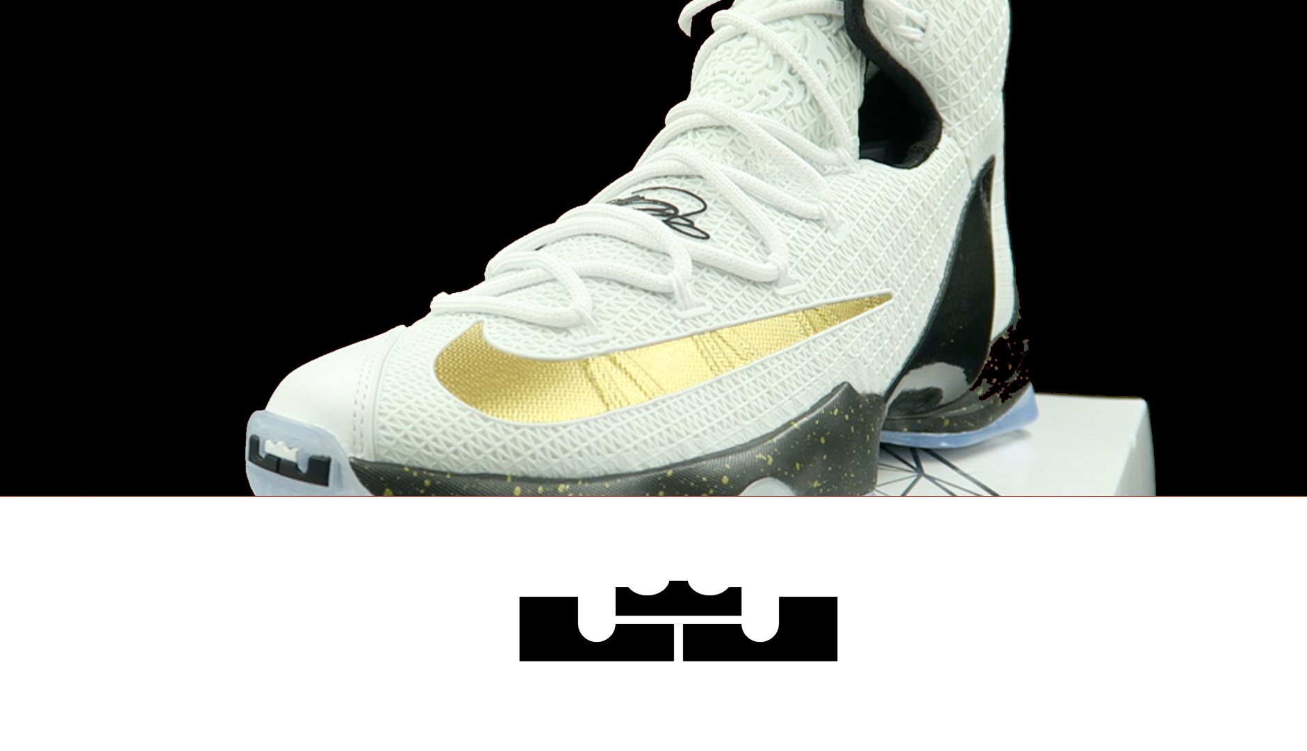 Nike LeBron 13 Elite White: Black – Gold | Detailed Look and Review
