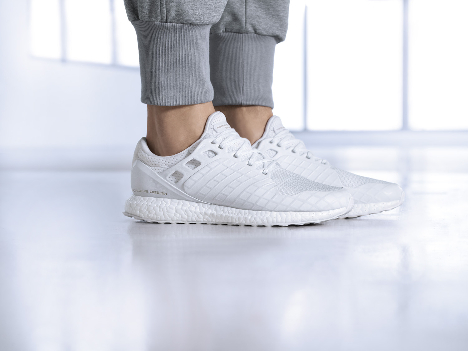 Porsche Design Sport by adidas releases the all white UltraBOOST-2