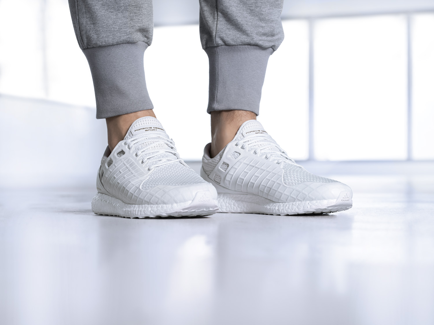 Porsche Design Sport by adidas releases the all white UltraBOOST-3