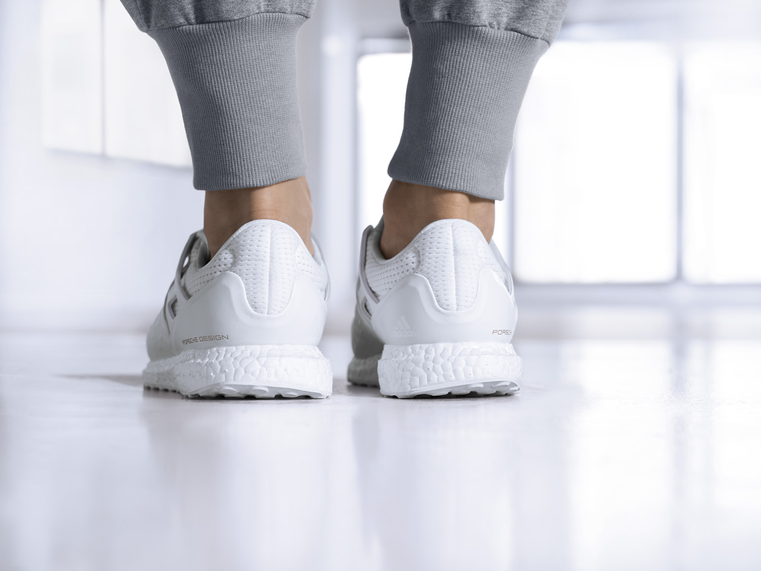 Porsche Design Sport by adidas releases the all white UltraBOOST-4