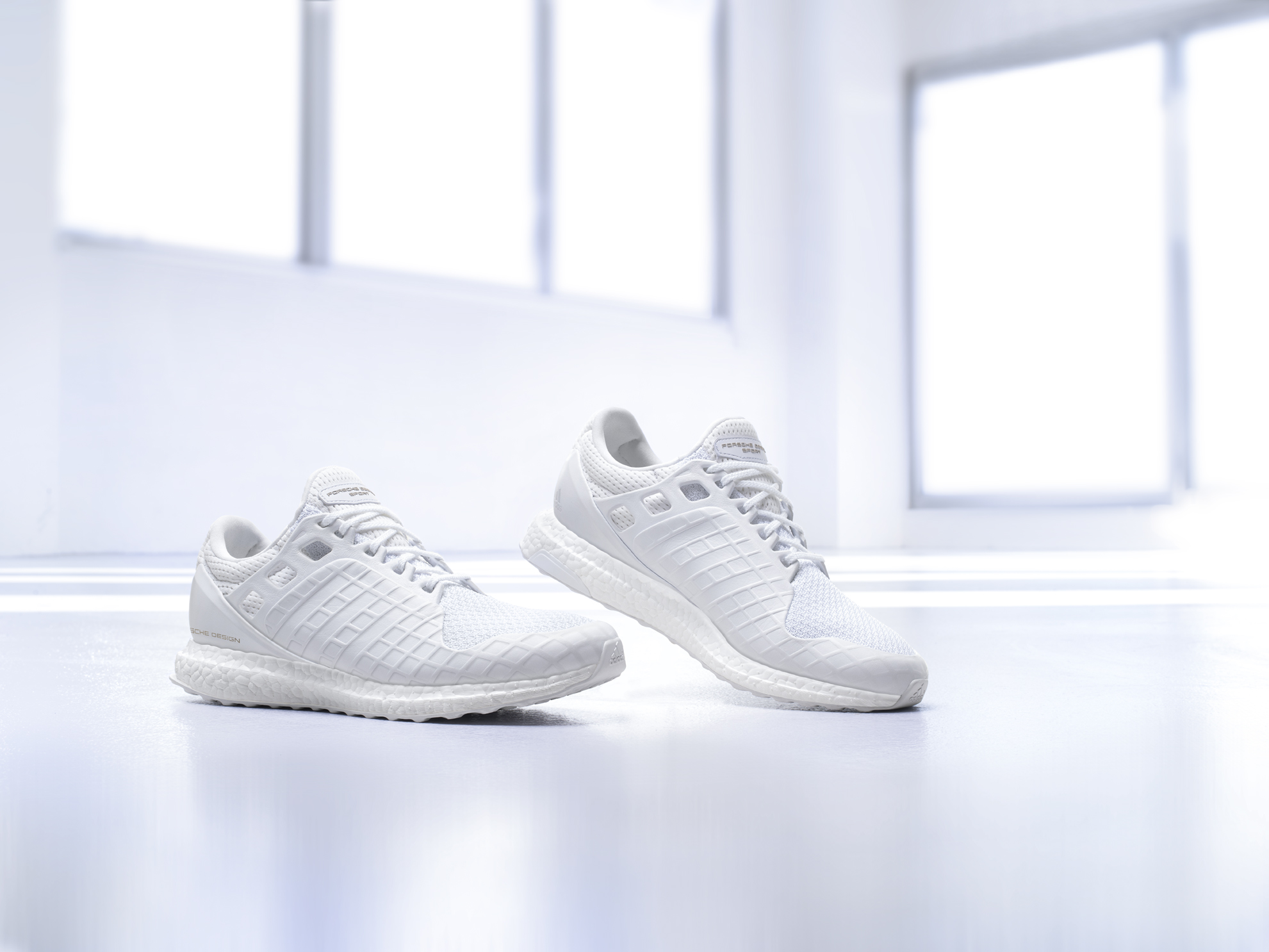 Porsche Design Sport by adidas releases the all white UltraBOOST-5