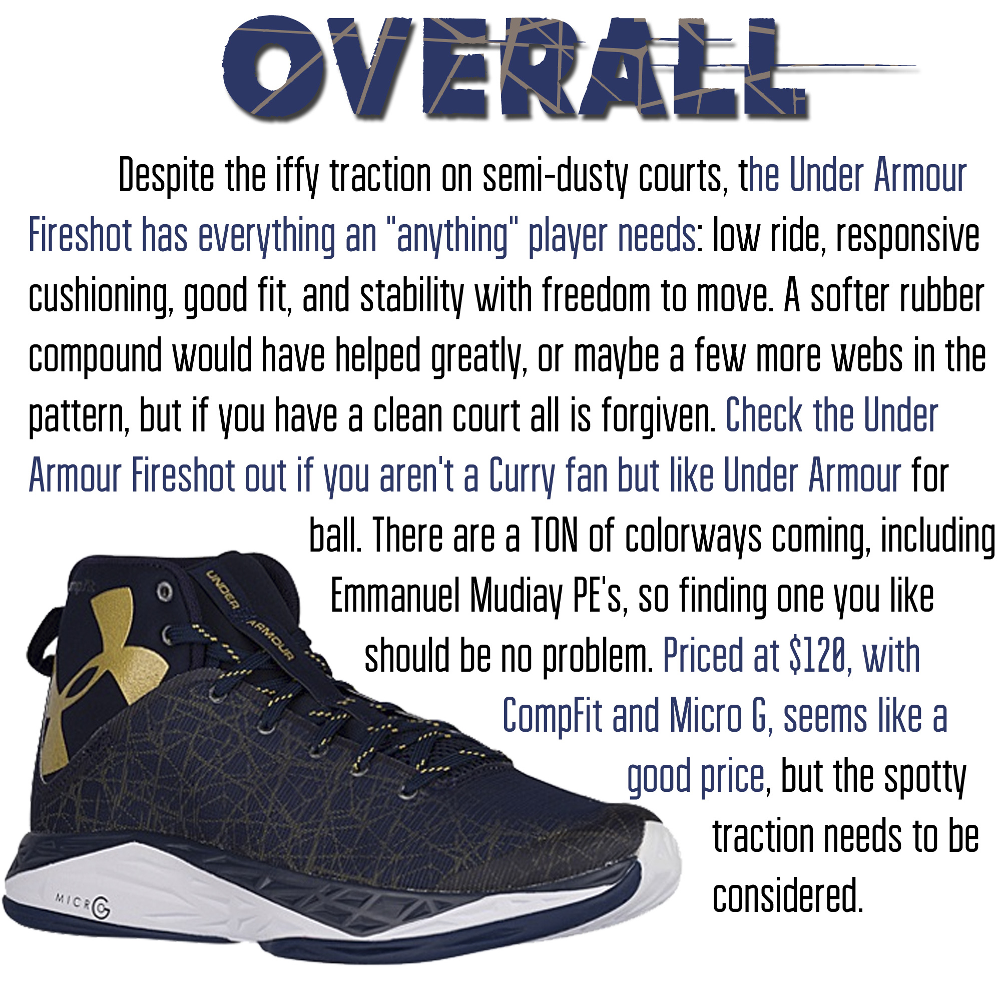 Under armour fireshot performance review 7
