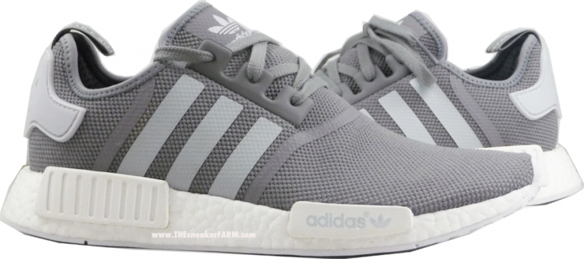 You Can Grab the Grey: White adidas NMD Now 1