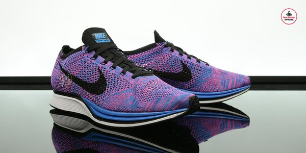 nike flyknit racer indigo foot locker